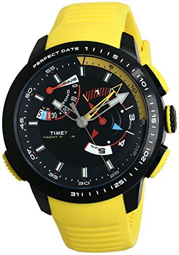 Timex TW2P44500AA Analog Black Dial Men's Watch (TW2P44500AA)