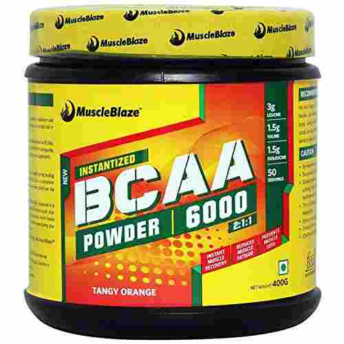 MuscleBlaze BCAA 6000 400gms (50 Servings)
