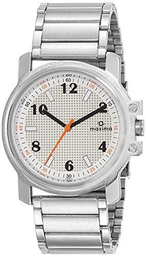 Maxima 34861CMGI Analog Silver Dial Men's Watch (34861CMGI)