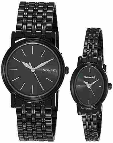 Sonata 11418100NM01 Analog Watch (11418100NM01)