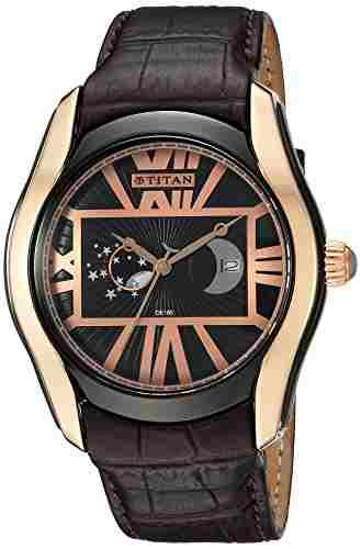 Titan 1665KL02 Celestial Analog Watch (1665KL02)