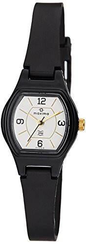 Maxima 07464PPLW Fiber Analog White Dial Women's Watch