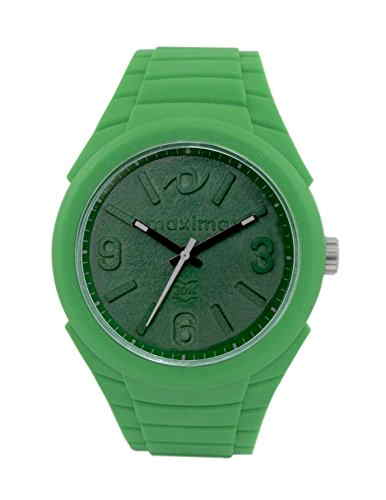 Maxima 36280PPGN Fiber Analog Green Dial Men's Watch (36280PPGN)