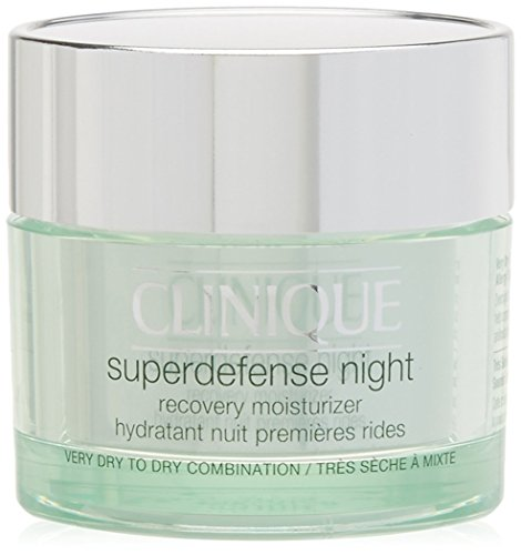 Clinique Superdefense Night Recovery Moisturizer For Very Dry To Dry Combination, 50 ML