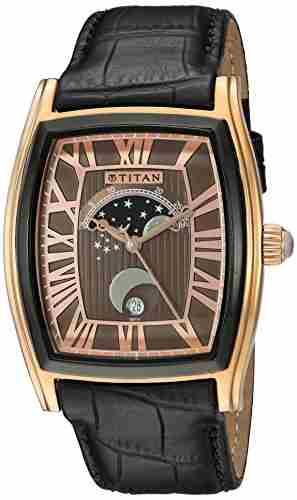 Titan 1661KL01 Celestial Analog Watch (1661KL01)