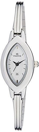 Maxima 27560BMLI Analog Silver Dial Women's Watch (27560BMLI)