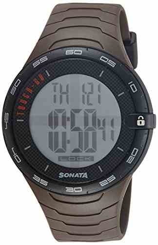 Sonata 77041PP02J Digital Watch (77041PP02J)