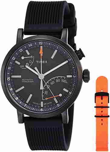 Timex TWG012600AA Metropolitan Analog Black Dial Men's Smart Watch (TWG012600AA)