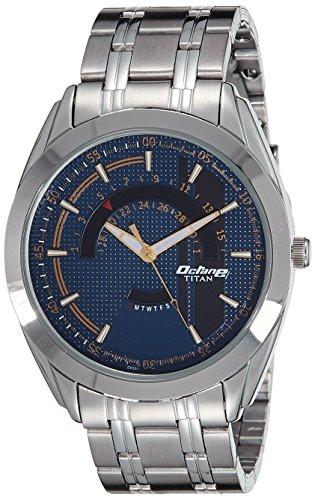 Titan NK1582SM03B Blue Dial Analog Men's Watch (NK1582SM03B)