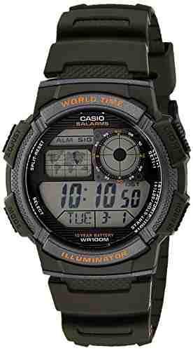 Casio Youth AE-1000W-3AVDF (D119) Digital Grey Dial Men's Watch (AE-1000W-3AVDF (D119))