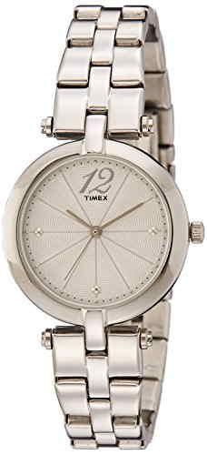 Timex TW000Z202 Analog Silver Dial Women's Watch (TW000Z202)