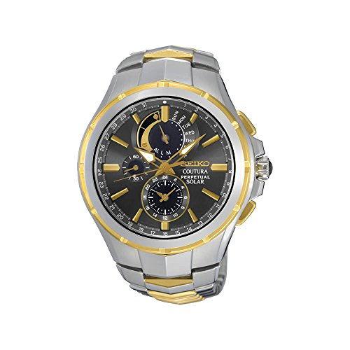Seiko SSC376P9 Analog White Dial Men's Watch (SSC376P9)