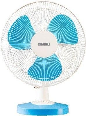 Usha Mist Air Duos Table Fan 3 Blade Blue