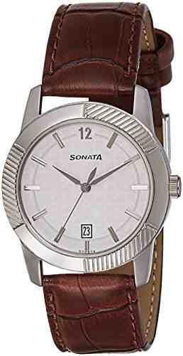 Sonata 7100SL02 Analog Silver Dial Men's Watch (7100SL02)