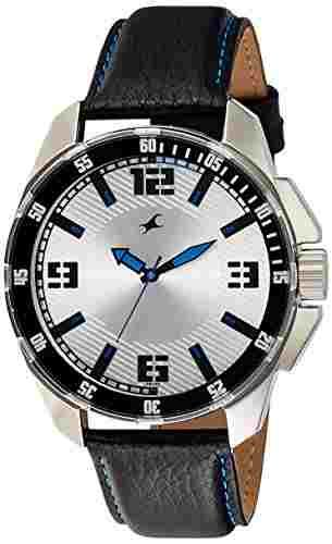 Fastrack 3084SL01 Upgrades Analog Silver Dial Men's Watch (3084SL01)