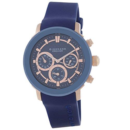 Giordano P1055-03 Blue Dial Analog Men's Watch (P1055-03)