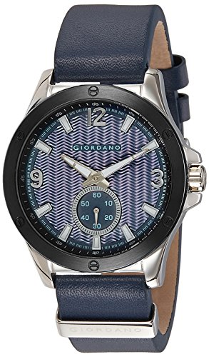 Giordano 1765-04 Blue Dial Analog Men's Watch (1765-04)