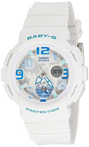 Casio Baby-G BGA-190-7BDR (B158) Analog Digital White Dial Women's Watch (BGA-190-7BDR (B158))