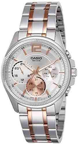 Casio Enticer MTP-E305RG-7AVDF (A1077) Analog Grey Dial Men's Watch (MTP-E305RG-7AVDF (A1077))