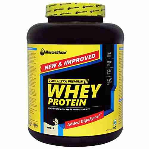 MuscleBlaze Whey Protein (2Kg, Vanilla)