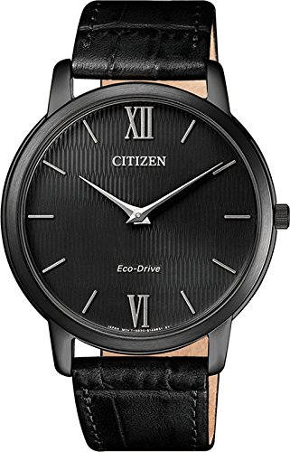 Citizen Eco-Drive AR1135-10E Black Analogue Men's Watch (AR1135-10E)
