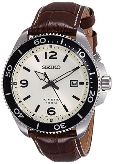 Seiko SKA749P1 Dress Analog White Dial Men's Watch (SKA749P1)