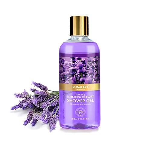 Vaadi Herbals Heavenly Lavender & Rosemarry Shower Gel, 300 ML