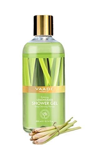 Vaadi Herbals Enticing Lemongrass Shower Gel, 300 ML