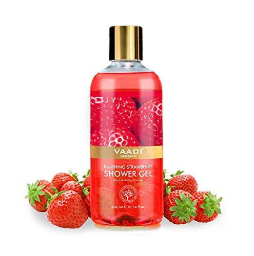 Vaadi Herbals Shower Gel Blushing Strawberry 300ml