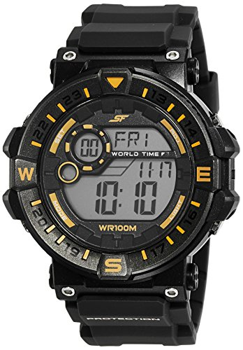 Sonata NK77061PP02 SF Black Dial Digital Men's Watch (NK77061PP02 SF)