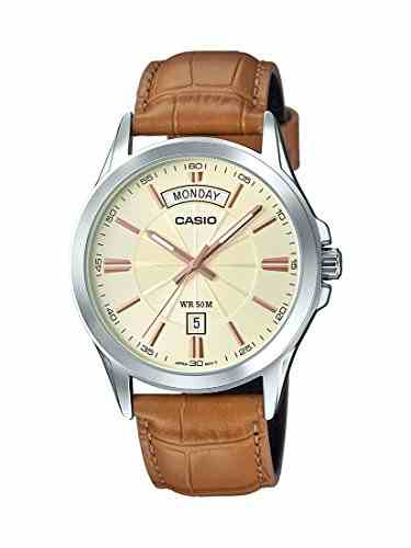 Casio Enticer MTP-1381L-9AVDF (A1133) Analog Gold Dial Men's Watch (MTP-1381L-9AVDF (A1133))
