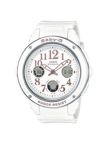 Casio Baby-G BGA-150EF-7BDR B164 White Dial Analog Watch For Women (BGA-150EF-7BDR B164)
