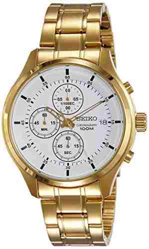 Seiko SKS544P1 Analog White Dial Men's Watch (SKS544P1)