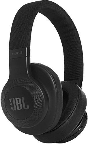 JBL E55BT On-Ear Headphones, Black