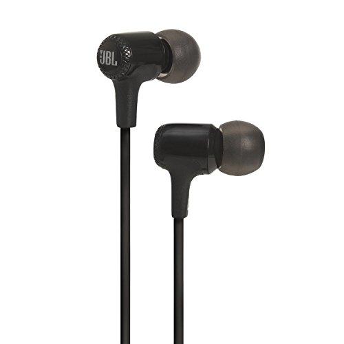 JBL E15 With Mic In The Ear Earphones, Black