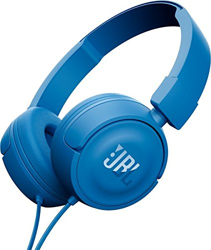 JBL T450 Pure Bass On-Ear Headphones, Blue