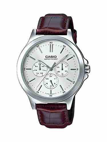 Casio MTP-V300L-7AUDF (A1177) Analog White Dial Men's Watch (MTP-V300L-7AUDF (A1177))