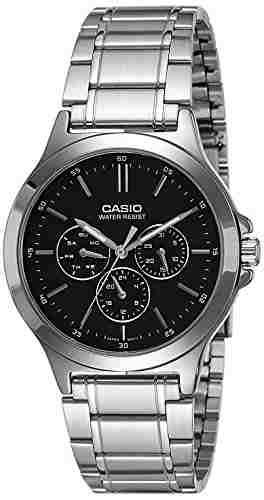 Casio MTP-V300D-1AUDF (A1173) Analog Black Dial Men's Watch (MTP-V300D-1AUDF (A1173))