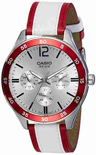 Casio Enticer MTP-E310L-4AVDF (A1182) Analog Silver Dial Men's Watch (MTP-E310L-4AVDF (A1182))