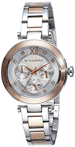 Giordano 2773-22 Silver Dial Analog Women's Watch (2773-22)