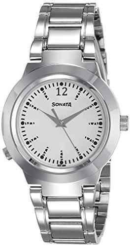 Sonata 90057SM01 Analog Watch (90057SM01)