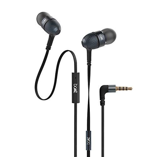 Boat BassHeads 220 Headphones, Black