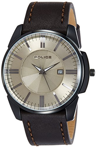 Police PL14384JSB19J Brown Dial Analog Men's Watch (PL14384JSB19J)
