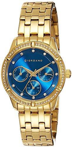 Giordano 2768-22 Blue Dial Analog Women's Watch (2768-22)