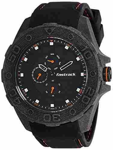 Fastrack 38030PP04J Analog Black Dial Men's Watch (38030PP04J)