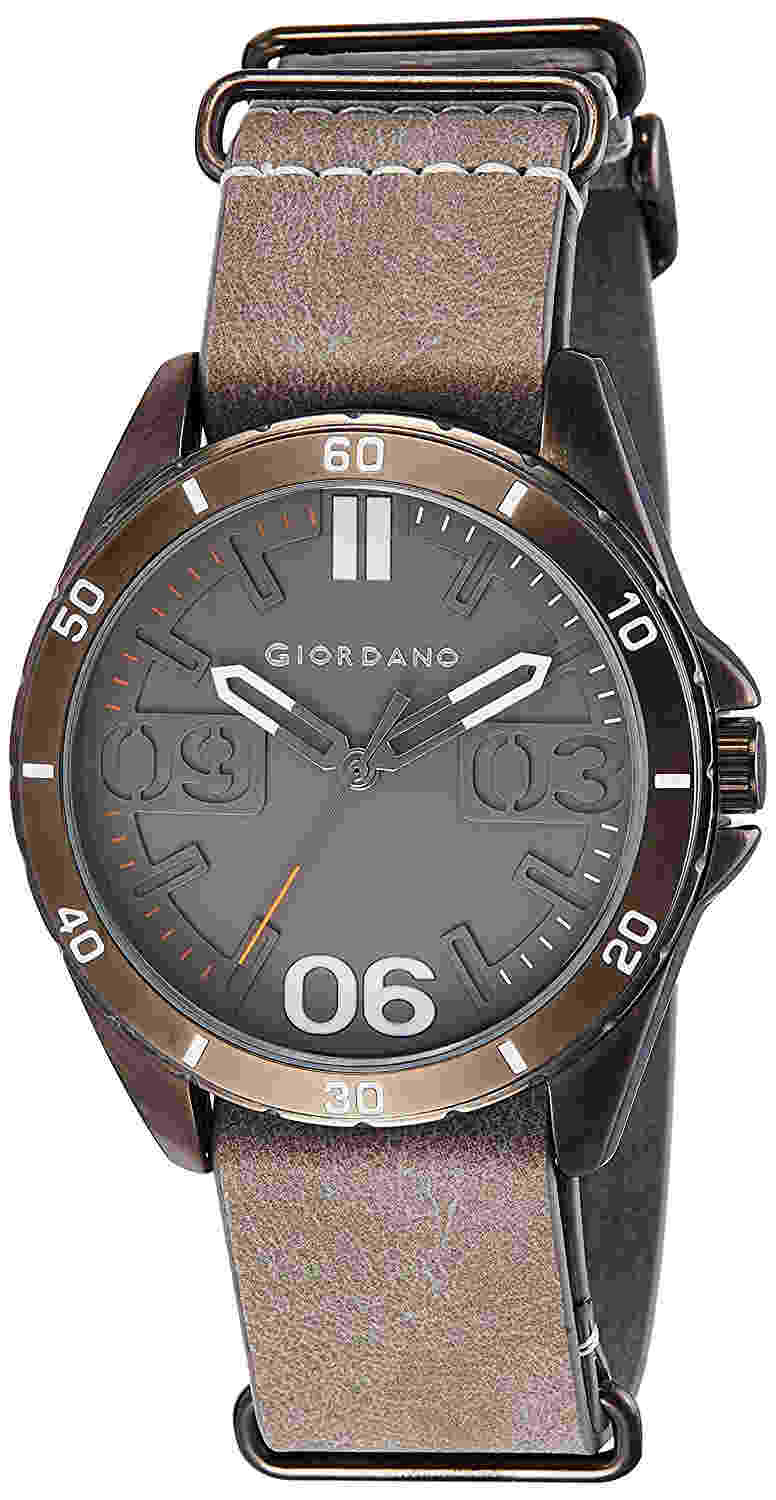 Giordano A1050-04 Grey Dial Analog Men's Watch (A1050-04)