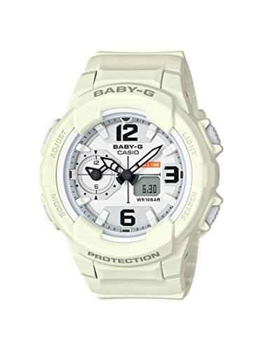 Casio Baby-G BGA-230-7B2DR (B173) Analog-Digital White Dial Women's Watch (BGA-230-7B2DR (B173))