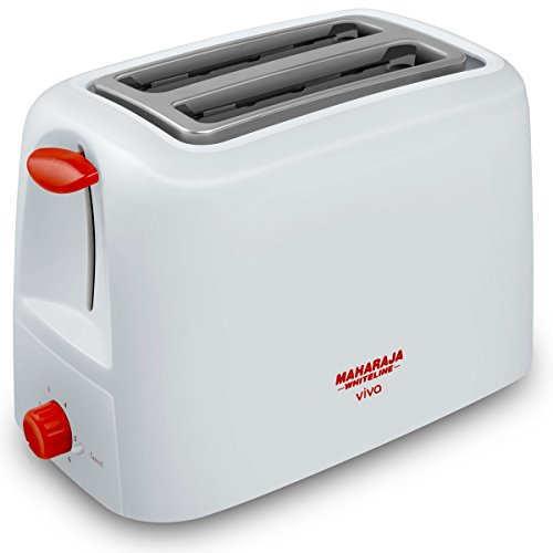 Maharaja Whiteline Viva 750W Pop Up Toaster