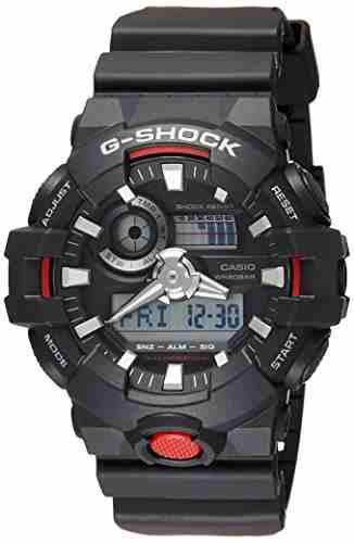 Casio G-Shock GA-700-1ADR (G714) Analog-Digital Black Dial Men's Watch (GA-700-1ADR (G714))
