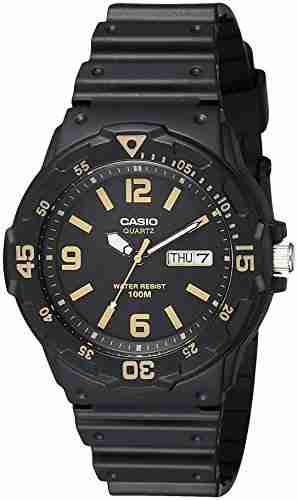 Casio Youth MRW-200H-1B3VDF (A1183) Analog Black Dial Men's Watch (MRW-200H-1B3VDF (A1183))